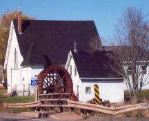 Showing context of building next to church; Province of PEI, Carter Jeffery, 2008