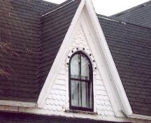 Detail of dormer window and shingle styles; Province of PEI, Carter Jeffery, 2007