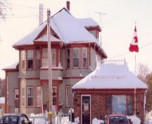 East elevation with office on the right with flag; Province of PEI, Carter Jeffery, 2007