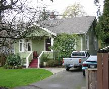Exterior view of 7011 Ash Street, Richmond, BC, 2001; Denise Cook Design 2004