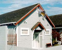 Exterior view of the Steveston Courthouse, 2001; Denise Cook Design 2004