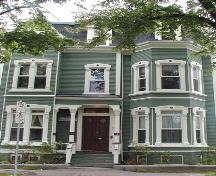 West Hawkins House, front façade, 2004; Heritage Division, NS Dept. of Tourism, Culture and Heritage, 2004