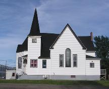 Zion Baptist Church, Truro, western elevation, 2004; Heritage Division, NS Dept. of Tourism, Culture and Heritage, 2004