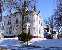 South west elevation; City of Charlottetown, Natalie Munn, 2005