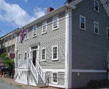Knaut-Rhuland House, Old Town Lunenburg, south façade, 2004; Heritage Division, NS Dept. of Tourism, Culture and Heritage