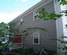 Knaut-Rhuland House, Old Town Lunenburg, rear façade, 2004; Heritage Division, NS Dept. of Tourism, Culture and Heritage