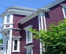 Smith House, Old Town Lunenburg, Lunenburg bump detail, 2004; Heritage Division, Nova Scotia Department of Tourism, Culture and Heritage, 2004