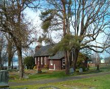 Exterior view of the Holy Trinity Church; District of North Saanich, 2007
