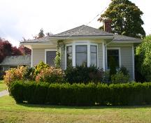 Exterior view of the Mary Spencer Residence, 2007; District of North Saanich, 2007