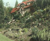 Eagles House and Garden, circa 1935.; City of Burnaby Planning and Building Department, 2004