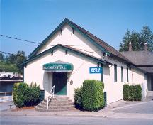 Front elevation of Lochdale Community Hall, 2003; City of Burnaby, 2003