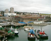 Exterior view of the Burrard Dry Dock Company, 2004 (Image 2); City of North Vancouver, 2004