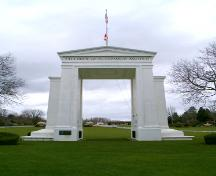 Exterior view of the Peace Arch, 2004; City of Surrey, 2004