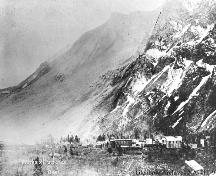 Frank Slide Provincial Historic Resource (1903); Glenbow Archives, NA-411-9
