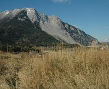 Frank Slide Provincial Historic Resource, Crowsnest Pass (June 2002); Alberta Culture and Community Spirit, Historic Resources Management, 2002