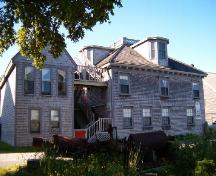 George Gracie House and Guest House, Side Elevation, 2004; Heritage Division, NS Dept. Tourism, Culture and Heritage, 2004