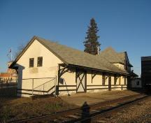 The Shellbrook C.N. Railway Station, 2008; Robertson, 2008