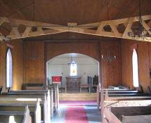 St. Mary's Anglican Church (interior), 2008; Robertson, 2008