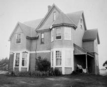 Archive image of house, c. 1900; Private Collection, Joe and Nora MacDonald