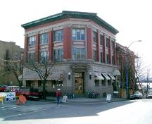 Exterior view of the Bank of Hamilton Chambers, 2004; City of North Vancouver, 2004