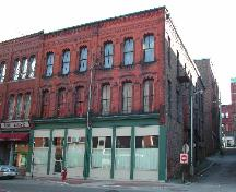 This photograph shows the contextual view of the building, 2005; City of Saint John