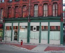 This photograph shows the storefront, 2005; City of Saint John