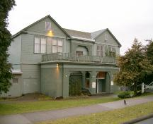 Exterior view of Central School, 2004; City of North Vancouver, 2004