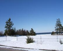 Cemetery in winter, Melville United Church Cemetery, Gulf Shore, NS, 2009.; Heritage Division, NS Dept of Tourism, Culture and Heritage, 2009