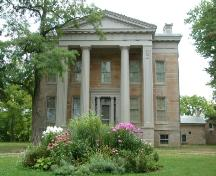 Front of the main building of Ruthven Park; Haldimand County 2007