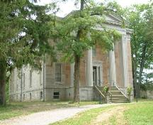 Front and side of Ruthven Park; Haldimand County 2007