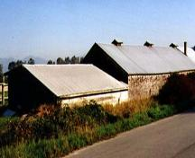 Exterior view of the Gilmore Potato Pit, 2000
