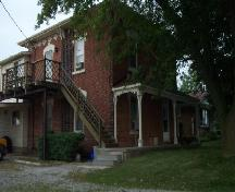 Front and side of the Jones-Doughty Residence; Haldimand County 2007