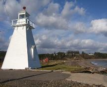 View from coast, Spencer's Island Lighthouse, Spencer's Island, NS, 2009.; Heritage Division, NS Dept of Tourism, Culture and Heritage, 2009