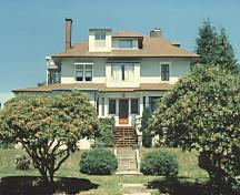 Exterior view of the McNair Residence, prior to renovation, 1988; Donald Luxton, City of North Vancouver, 1988