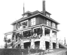 Exterior view of the McNair Residence, 1907; North Vancouver Museum and Archives, #9185