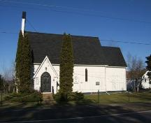 Front elevation, St. Andrew's Anglican Church, Wallace, NS, 2009.; Heritage Division, NS Dept of Tourism, Culture and Heritage, 2009