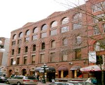 Exterior view of the Hudson's Bay Company Warehouse; City of Vancouver, 2004