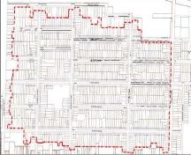 Featured are the properties within the Old East Heritage Conservation District.; City of London, 2004.