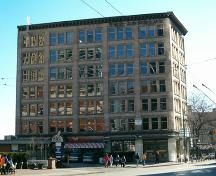 Exterior view of the Kelly, Douglas and Company Warehouse; City of Vancouver, 2004