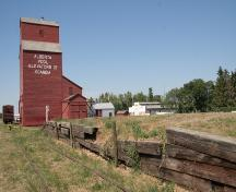 Alberta Wheat Pool Grain Elevator, Scandia; Alberta Culture and Community Spirit, Historic Resources Management Branch