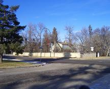 Princess Avenue section of the Stone Fence, Brandon, 2005.; Historic Resources Branch, Manitoba Culture, Heritage, Tourism and Sport, 2005
