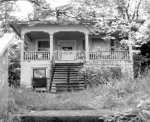 Exterior view of the McLean Residence, 1997 prior to relocation; City of Port Moody, 1997