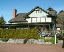 Exterior view of the Vance Residence, 2004; City of North Vancouver, 2004