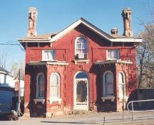 Front of the Toll House; County of Haldimand, 2007.