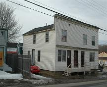 Side profile of 209/211/213 St. Anthony Street, Annapolis Royal, Nova Scotia, 2009.; Nova Scotia Department of Tourism, Culture and Heritage, Heritage Division, 2009