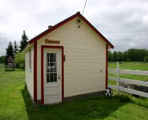 North elevation of the Milk House, Nordin Farmstead, Teulon area, 2005; Historic Resources Branch, Manitoba Culture, Heritage, Tourism and Sport, 2005