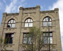 Wall detail of the Marshall-Wells Building, Winnipeg, 2006; Historic Resources Branch, Manitoba Culture, Heritage, Tourism and Sport, 2006