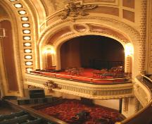 Interior view of the Walker Theatre, Winnipeg, 2006; Historic Resources Branch, Manitoba Culture, Heritage, Tourism and Sport, 2006