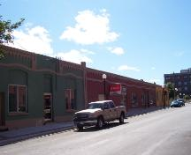 View looking west, on the south side of Water Street, St. John's. Photo taken August 2008.; Deborah O'Rielly/ HFNL 2008