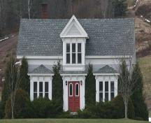 Front elevation, Hanna House, Lakelands, NS, 2009.; Heritage Division, NS Dept of Tourism, Culture and Heritage, 2009